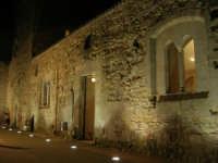 Castello arabo normanno - particolare del cortile interno - 2 gennaio 2009   - Salemi (2626 clic)
