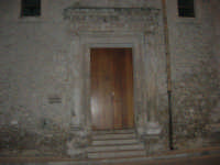 in via Comm. Navarra, angolo via Don G.ppe Rizzo, la sede della Biblioteca Multimediale, ex Chiesa San Giacomo de Spada - Sec. XVI - 10 maggio 2007  - Alcamo (1199 clic)