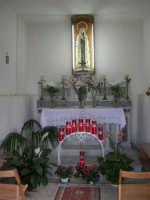 interno della Chiesetta della Madonna di Fatima - 12 giugno 2007  - Castellammare del golfo (740 clic)