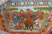 folclore: particolare di carretto siciliano - 22 maggio 2009   - Erice (2499 clic)
