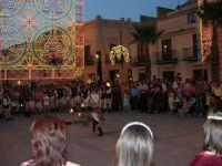 Festeggiamenti in onore di Maria SS. dei Miracoli - Patrona di Alcamo - Piazza Ciullo - Esibizione del Gruppo Storico dei Cavalieri di S. Giorgio - 20 giugno 2006  - Alcamo (1369 clic)