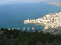 dall'area attrezzata del Belvedere, la città ed il golfo - 12 giugno 2007  - Castellammare del golfo (952 clic)