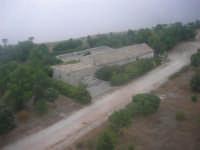 Dalla funivia in un giorno di foschia - 2 agosto 2005  - Erice (1306 clic)
