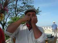 folclore: esibizione con marranzano o schiaccia pensieri - 22 maggio 2009   - Erice (7273 clic)