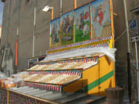 Festa di li Schietti - bancarella semi e frutta secca (calia e simenza) - 23 marzo 2008   - Terrasini (3120 clic)