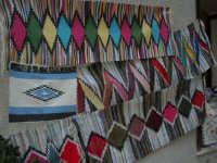Tappeti dell'artigianato locale - 2 agosto 2005  - Erice (3345 clic)