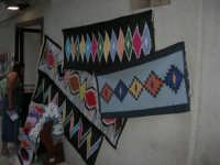 Tappeti dell'artigianato locale - 2 agosto 2005  - Erice (3343 clic)