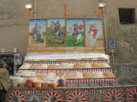 Festa di li Schietti - bancarella semi e frutta secca (calia e simenza) - 23 marzo 2008   - Terrasini (3814 clic)