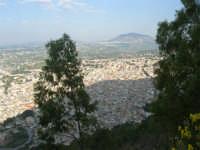 panorama della città ed all'orizzonte il monte Bonifato - 12 giugno 2007   - Castellammare del golfo (750 clic)