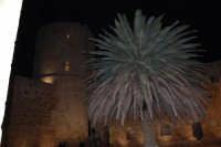 Castello arabo normanno - cortile interno - 2 gennaio 2009  - Salemi (2492 clic)