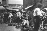 mercato dietro Piazza Pretoria - primi anni del novecento PALERMO Lidia e Nicola