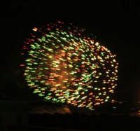Festeggiamenti in onore di Maria SS. dei Miracoli - Patrona di Alcamo - C/da Sasi - Spettacolo di Giochi Pirotecnici - 21 giugno 2006   - Alcamo (1310 clic)