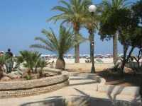 giardino pubblico sulla spiaggia - 21 agosto 2009  - San vito lo capo (1571 clic)