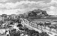 lungomare e Monte Pellegrino  - Palermo (2879 clic)