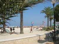 dal giardino pubblico la spiaggia - 21 agosto 2009  - San vito lo capo (1577 clic)