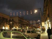 luci natalizie in via Fardella - 21 dicembre 2008          - Trapani (1049 clic)