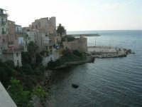 case sul mare tra Cala Petrolo ed il Castello - 12 giugno 2007   - Castellammare del golfo (729 clic)
