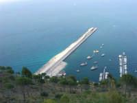 dal Belvedere: i lavori in corso al porto - 14 giugno 2007   - Castellammare del golfo (700 clic)