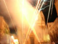 Festeggiamenti in onore di Maria SS. dei Miracoli - Patrona di Alcamo - Piazza Ciullo - Spettacolo Piromusicale - 19 giugno 2006   - Alcamo (1138 clic)