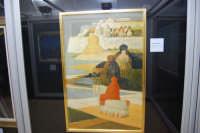 stazione ferroviaria - visita a IL TRENO DELL'ARTE -  Museo per un Giorno - Salvatore Fiume - Isola, 1984  - (7) - 13 ottobre 2007  - Trapani (1448 clic)