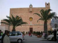 Il Santuario - chiesa fortezza - dedicato a San Vito  Martire - 19 febbraio 2006   - San vito lo capo (1340 clic)
