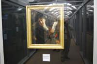 stazione ferroviaria - visita a IL TRENO DELL'ARTE -  Museo per un Giorno - Antonio Mancini - Ritratto di signora - (14) - 13 ottobre 2007  - Trapani (3240 clic)