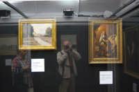 stazione ferroviaria - visita a IL TRENO DELL'ARTE -  Museo per un Giorno - Gino Romiti - Paesaggio -, Tommaso De Vivo - Giuditta e Oloferne - (15) - 13 ottobre 2007  - Trapani (1263 clic)