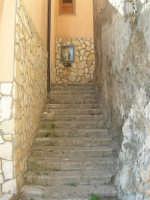a spasso per la città: da Discesa al Santuario a via Sacerdote Coraci, una gradinata, alla cui sommità c'è una edicola votiva dedicata all'Immacolata Concezione - 6 giugno 2007  - Alcamo (1069 clic)