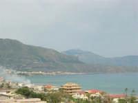 Panorama del Golfo di Castellammare (lato ovest) - 25 aprile 2006  - Alcamo marina (1214 clic)