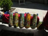 Sagra delle ciliege - tegole decorate - 17 giugno 2007  - Chiusa sclafani (9748 clic)