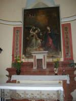 Chiesa di Maria SS. Annunziata - interno - 19 agosto 2007  - Castellammare del golfo (550 clic)