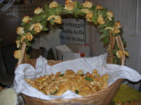 Cous Cous Fest 2007 - Expo Village - itinerario alla scoperta dell'artigianato, del turismo, dell'agroalimentare siciliano e dei Paesi del Mediterraneo - i pani per gli altari di San Giuseppe di Salemi (TP) - 28 settembre 2007   - San vito lo capo (664 clic)