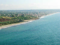 Panorama del Golfo di Castellammare dallo Zoo Fattoria - 15 luglio 2005  - Terrasini (3026 clic)