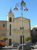 Chiesa nel Corso Umberto I, di fronte alla Chiesa Madre - 7 settembre 2007  - Ribera (2453 clic)