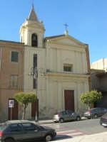 Chiesa nel Corso Umberto I, di fronte alla Chiesa Madre - 7 settembre 2007  - Ribera (2408 clic)