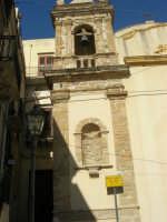 Chiesa di Maria SS. delle Grazie - campanile - 19 agosto 2007  - Castellammare del golfo (730 clic)