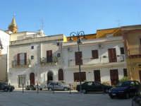 Piazza Giovanni XXIII e campanile della Chiesa Madre - 7 settembre 2007  - Ribera (3817 clic)