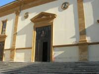 Chiesa Madre sita nel Corso Umberto I sulla Piazza Giovanni XXIII: particolare della facciata principale  - 7 settembre 2007  - Ribera (4027 clic)