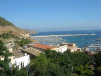 vista sul porto dalla villa - 19 agosto 2007  - Castellammare del golfo (642 clic)