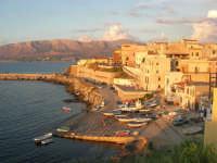 case sul porto e Golfo di Castellammare  - 9 settembre 2007  - Trappeto (1701 clic)