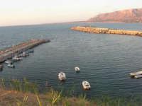 porto e Golfo di Castellammare  - 9 settembre 2007  - Trappeto (2005 clic)