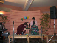C/da Scampati - Sala Panorama - Cabaret durante la cena di beneficenza a favore dell'AVSI: Ivan D'Angelo e Giuseppe Coppola di Castellammare del Golfo - 24 febbraio 2006  - Alcamo (1322 clic)