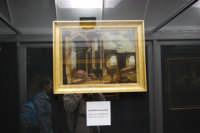 stazione ferroviaria - visita a IL TRENO DELL'ARTE -  Museo per un Giorno - Leonardo Coccorante - Capriccio architettonico - (21) - 13 ottobre 2007  - Trapani (1383 clic)