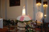 la statua della Madonna di Fatima ospitata all'interno della Chiesa di S. Maria del Gesù - 17 maggio 2008  - Alcamo (950 clic)