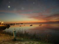 Lo Stagnone dopo il tramonto - 4 dicembre 2005    - Marsala (2280 clic)