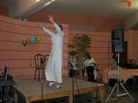C/da Scampati - Sala Panorama - Cabaret durante la cena di beneficenza a favore dell'AVSI: Ivan D'Angelo di Castellammare del Golfo - 24 febbraio 2006  - Alcamo (1194 clic)