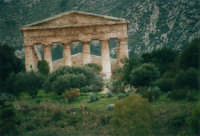 il tempio - 3 novembre 2002  - Segesta (1847 clic)