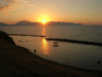 tramonto - 9 settembre 2007  - Trappeto (3358 clic)