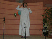 C/da Scampati - Sala Panorama - Cabaret durante la cena di beneficenza a favore dell'AVSI: Ivan D'Angelo di Castellammare del Golfo - 24 febbraio 2006  - Alcamo (1242 clic)