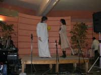 C/da Scampati - Sala Panorama - Cabaret durante la cena di beneficenza a favore dell'AVSI: Ivan D'Angelo e Veronica Sabella di Castellammare del Golfo - 24 febbraio 2006  - Alcamo (1200 clic)